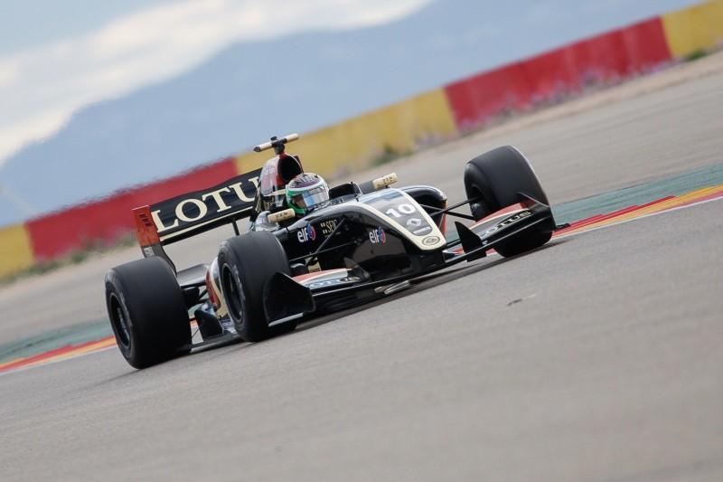 2015 Formula Renault 3.5 Series - Aragon - Pietro Fantin