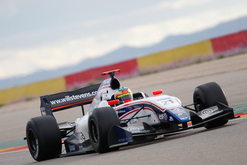 2015 Formula Renault 3.5 Series - Aragon - André Negrão