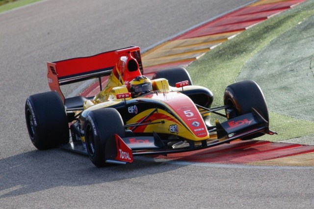 2015 Formula Renault 3.5 Series - Aragon - Egor Orudzhev