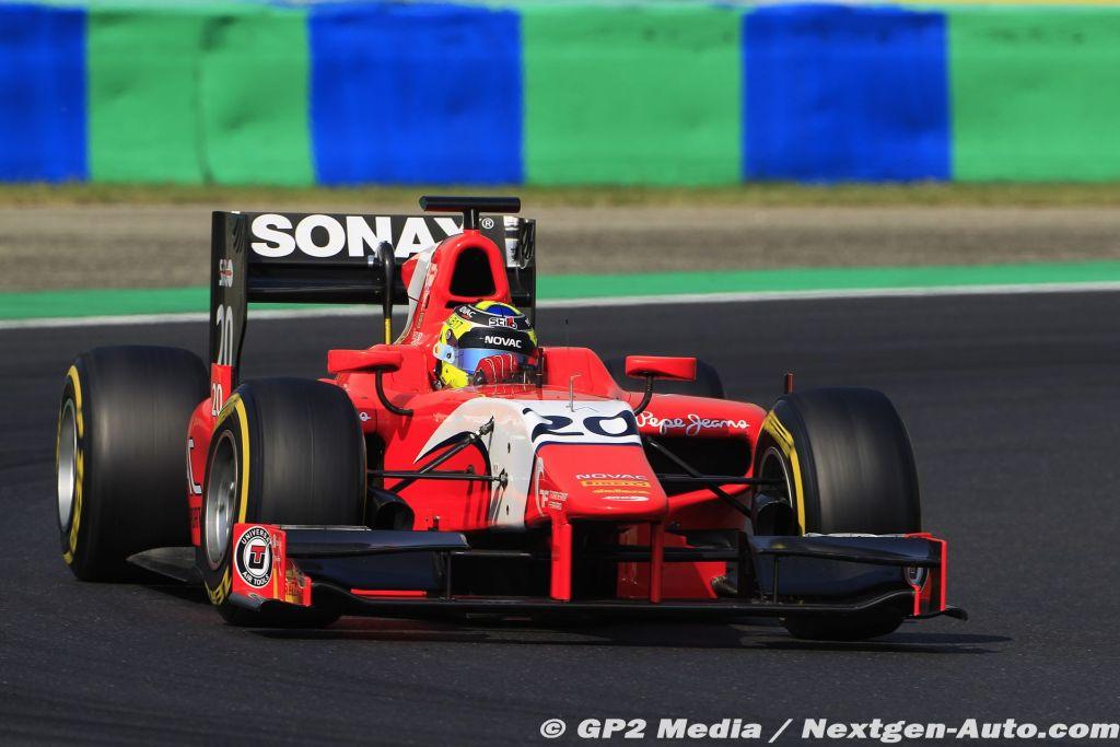 2015 GP2 Hongrie - Arden - Andre Negrao