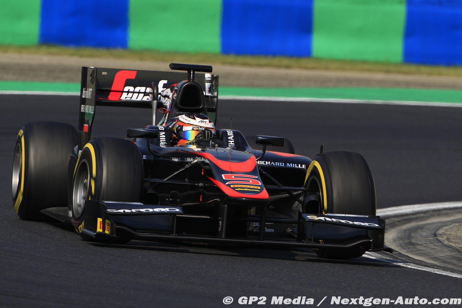 2015 GP2 Hongrie - Art Grand Prix - Stoffel Vandoorne