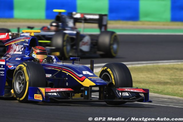 2015 GP2 Hongrie - Carlin Motorsport - Sean Galael