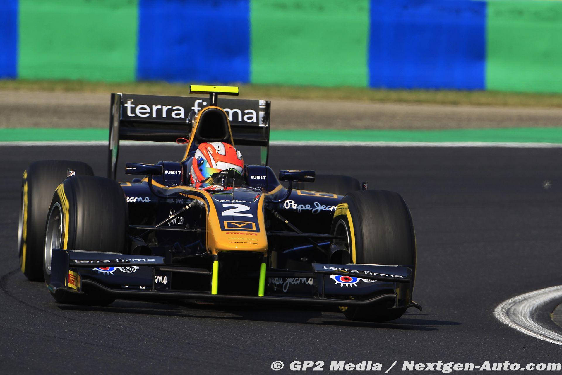2015 GP2 Hongrie - Dams - Alex Lynn