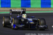 2015 GP2 Hongrie - Team Lazarus - Nathanael Berthon
