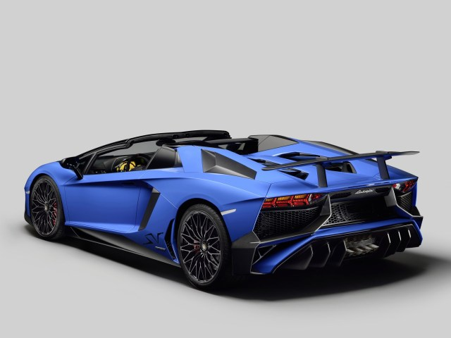 Lamborghini Aventador Vitesse LP750-4 Superveloce Roadster lb834 2015
