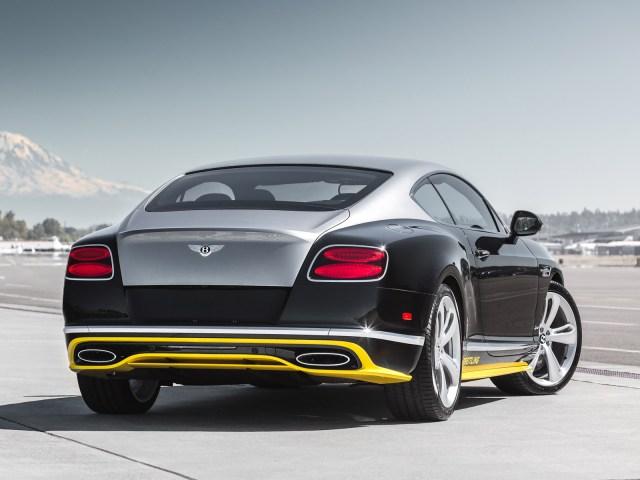2015 Bentley Continental GT Speed Breitling