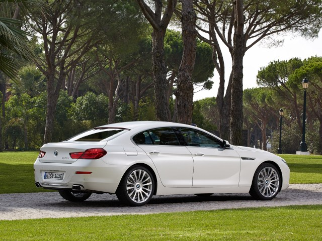2015 Bmw Serie 6 650i Gran Coupe F06