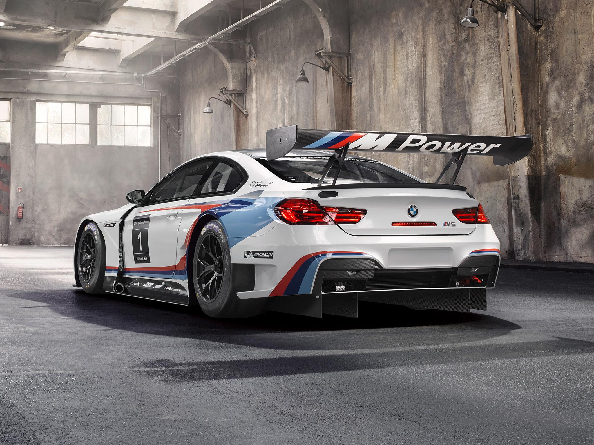 2015 Bmw M6 GT3 F13