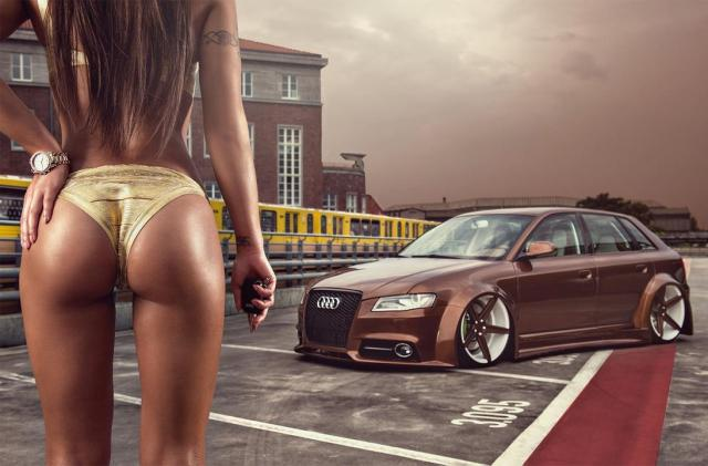 2016 Calendrier Miss Tuning Aout