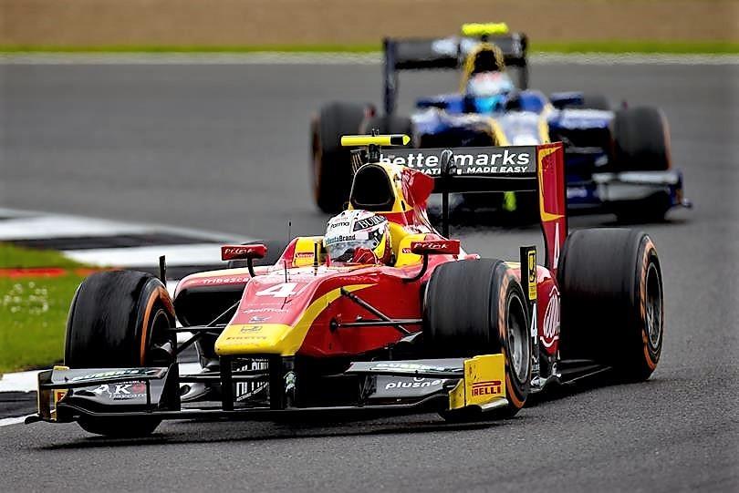 2016 GP2 Series Silverstone Jordan King