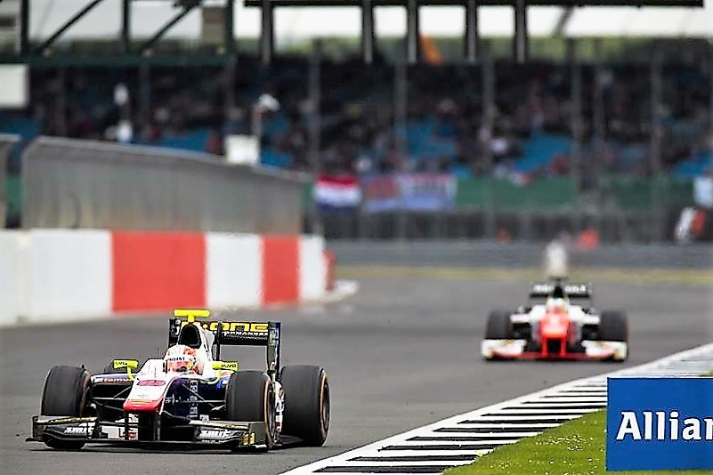 2016 GP2 Series Silverstone Luca Ghiotto