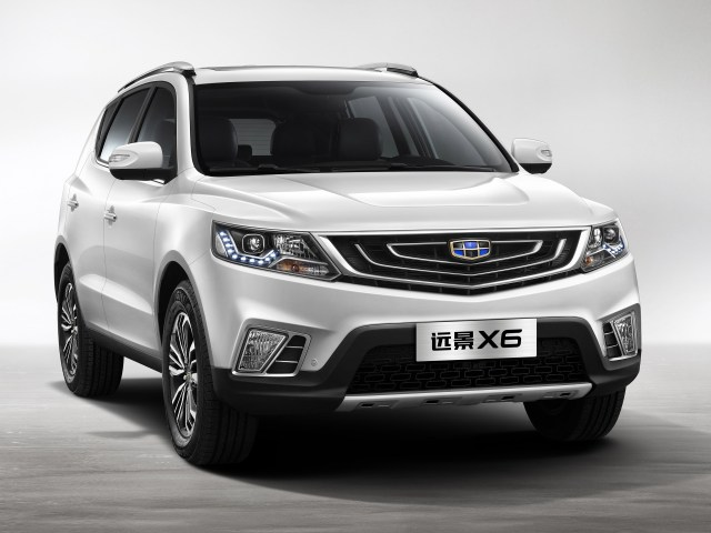 2016 Geely Vision X6