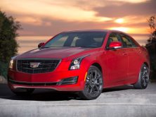 2016 Cadillac ATS Black Orange