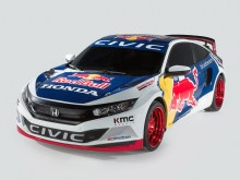 2016 Honda Civic Coupe Rally-cross