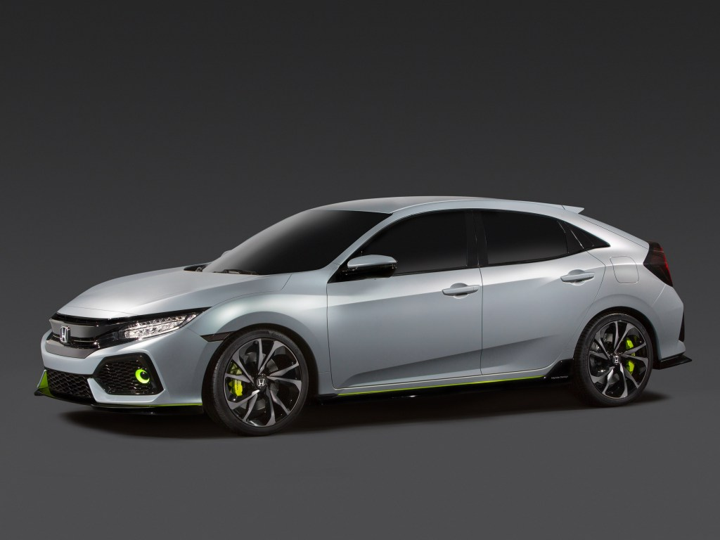 2016 Honda Civic Hatchback Prototype