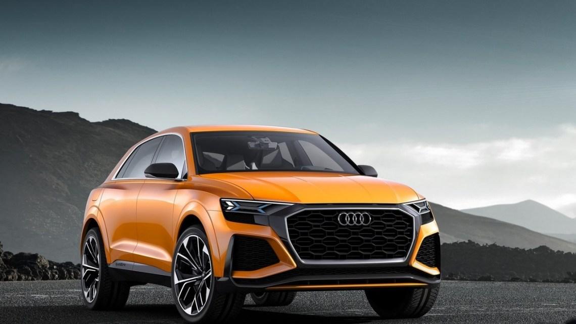 Audi Q8 Sport Concept 2017 – L'évolution du SUV-Coupé arrive à Genève