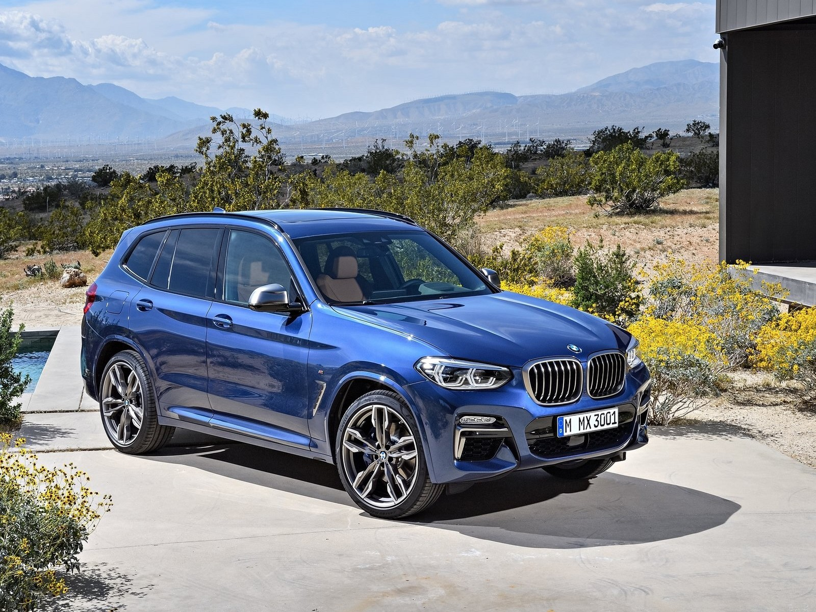 le nouveau bmw x3 et x3 m40i 2018 les premi re photos du bmw x3. Black Bedroom Furniture Sets. Home Design Ideas