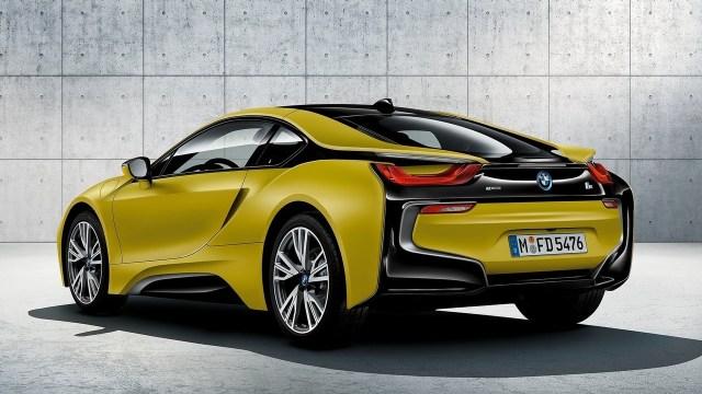 2018 BMW i8 Protonic Frozen Yellow