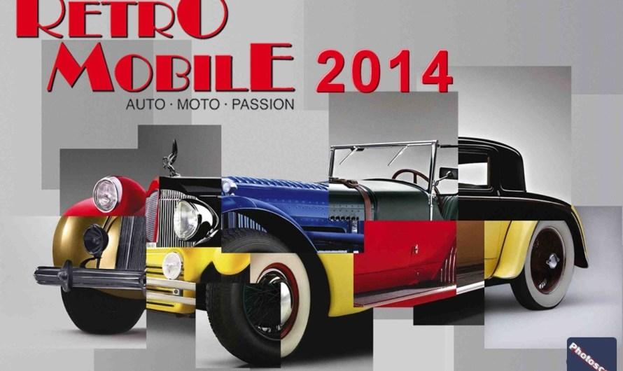 Retromobile 2014 – Curieux ou amateurs de voitures anciennes