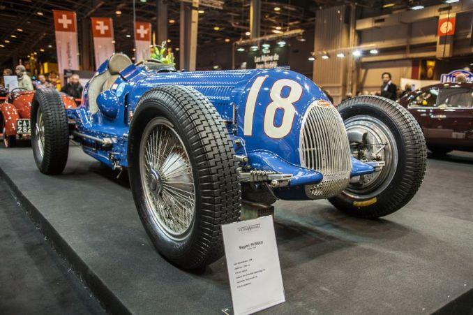 Bugatti T59 Grand Prix - Peter Wiesner stand