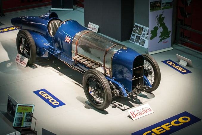 Sunbeam Bluebird - Retromobile 2014