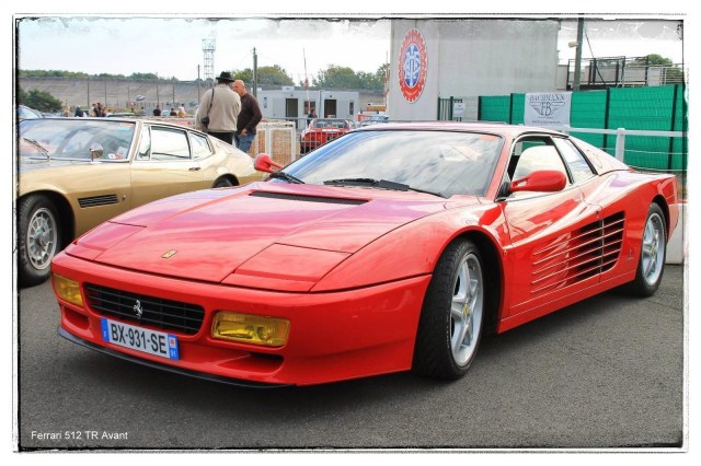 italian meeting - Ferrari 512 TR