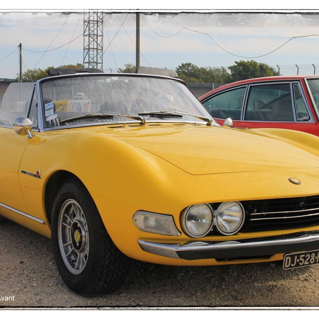 italian meeting - Fiat Dino Spider 2400