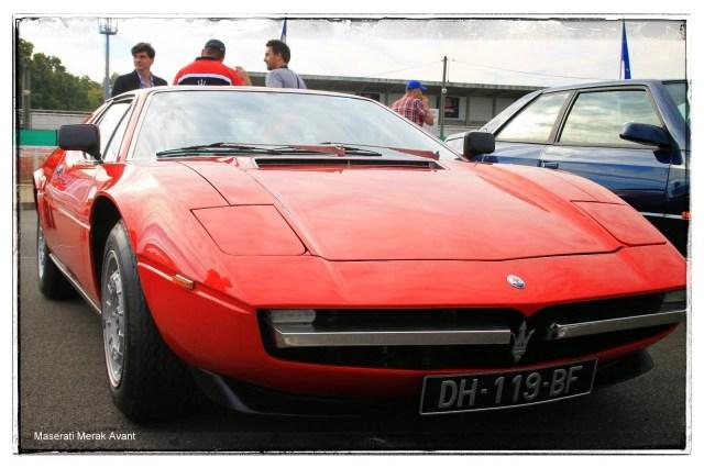 italian meeting - Maserati Merak Avant