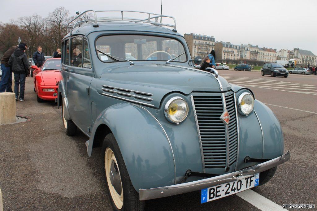 Traversee de Paris 2014 - Renault Juva 4