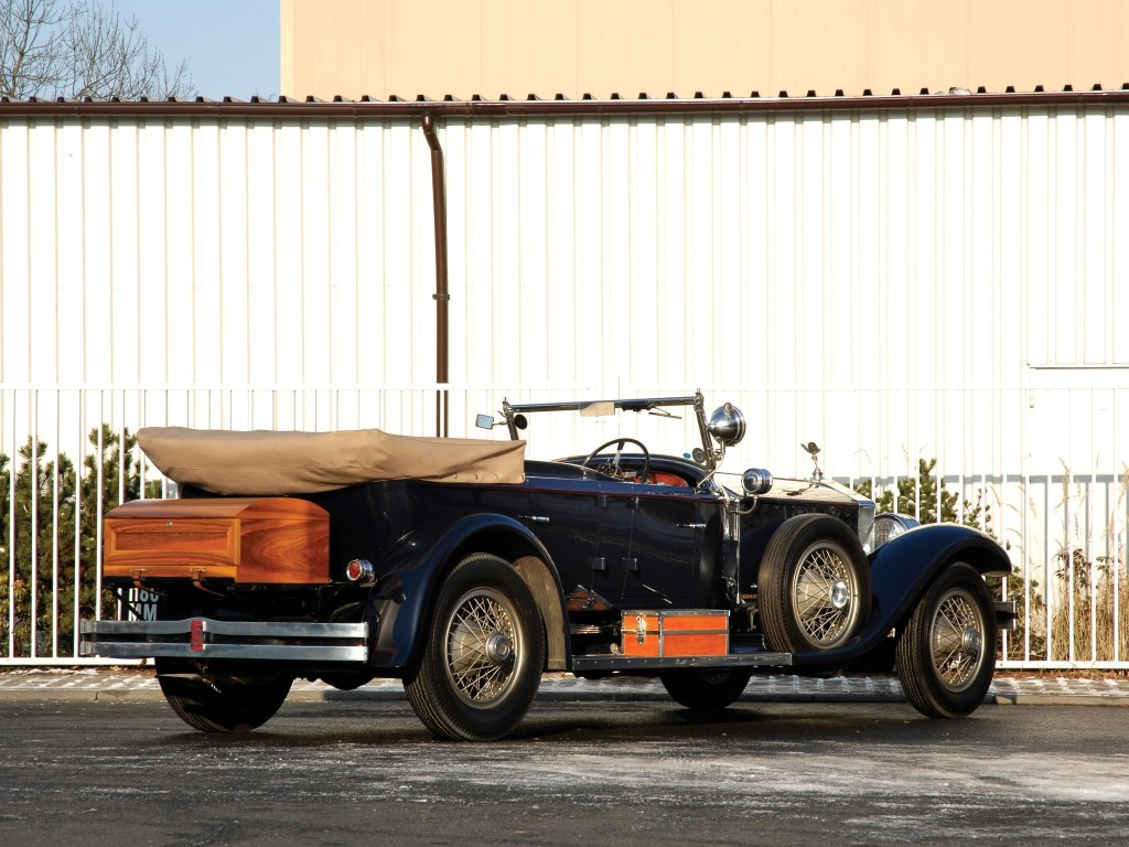 1923 Rolls Royce Silver Ghost 40-50 Torpedo Tourer by Holbrook