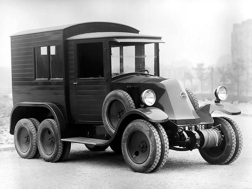 1925 Renault 10 CV Type mh Sahara
