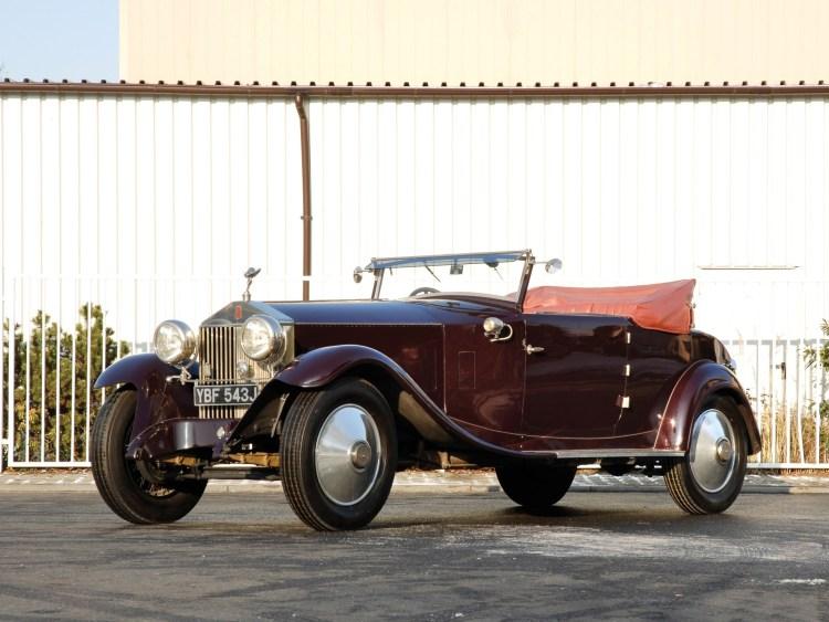 1925 Rolls Royce Phantom 40-50 Cabriolet by Manessius I