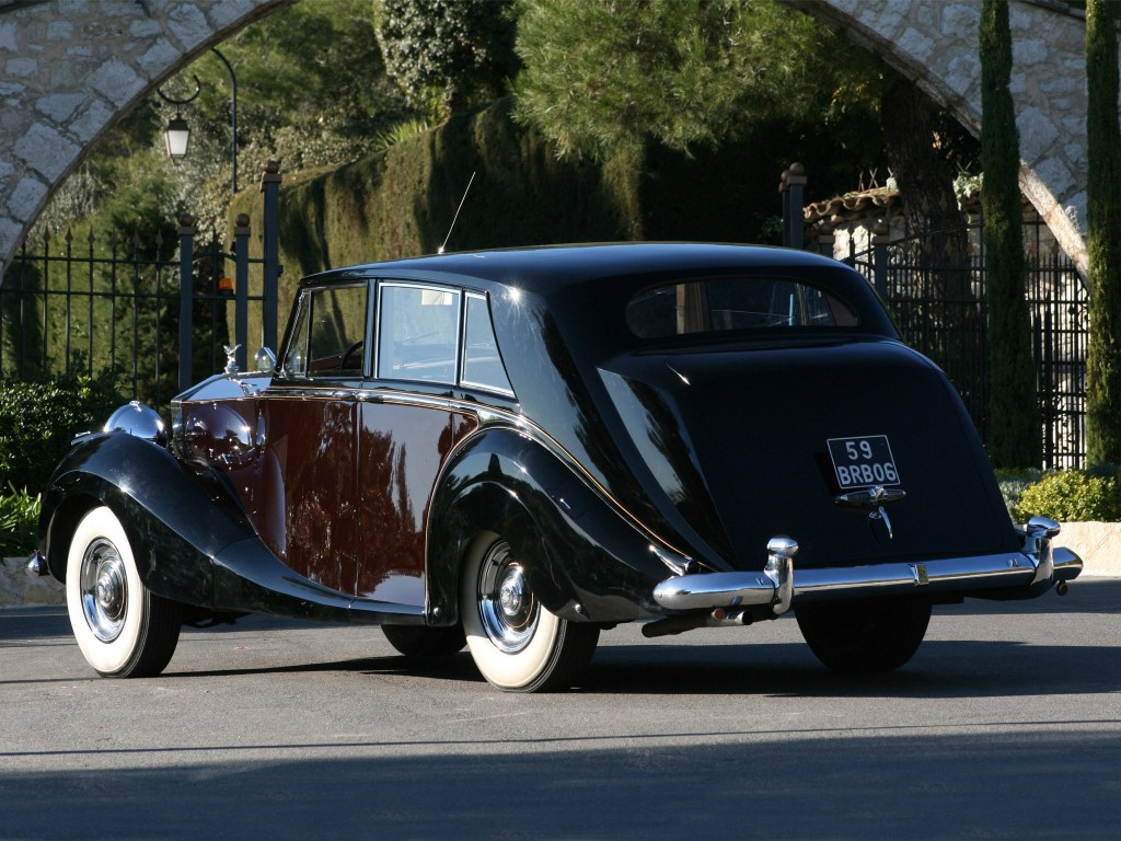 1953 Rolls Royce Silver Wraith Limousine by Hooper