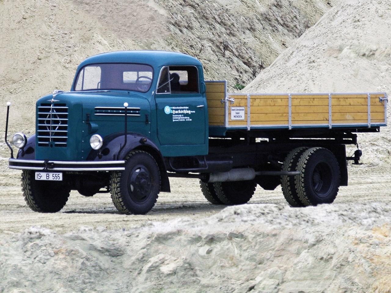 1957 Borgward B555
