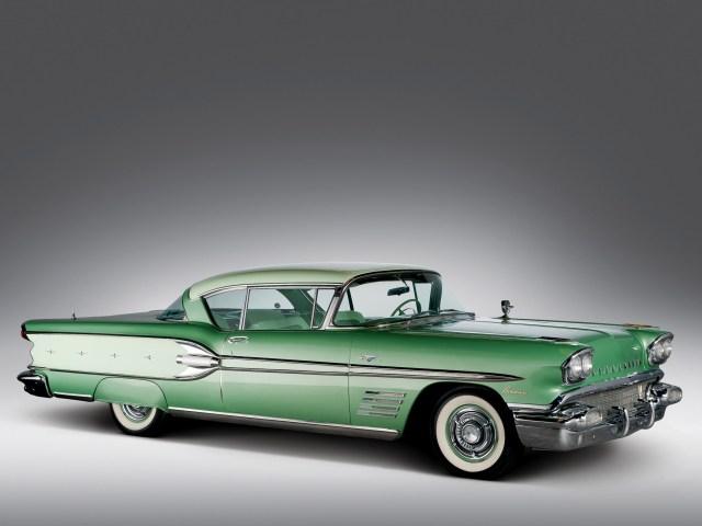 1958 Pontiac Bonneville Custom Sport Coupe
