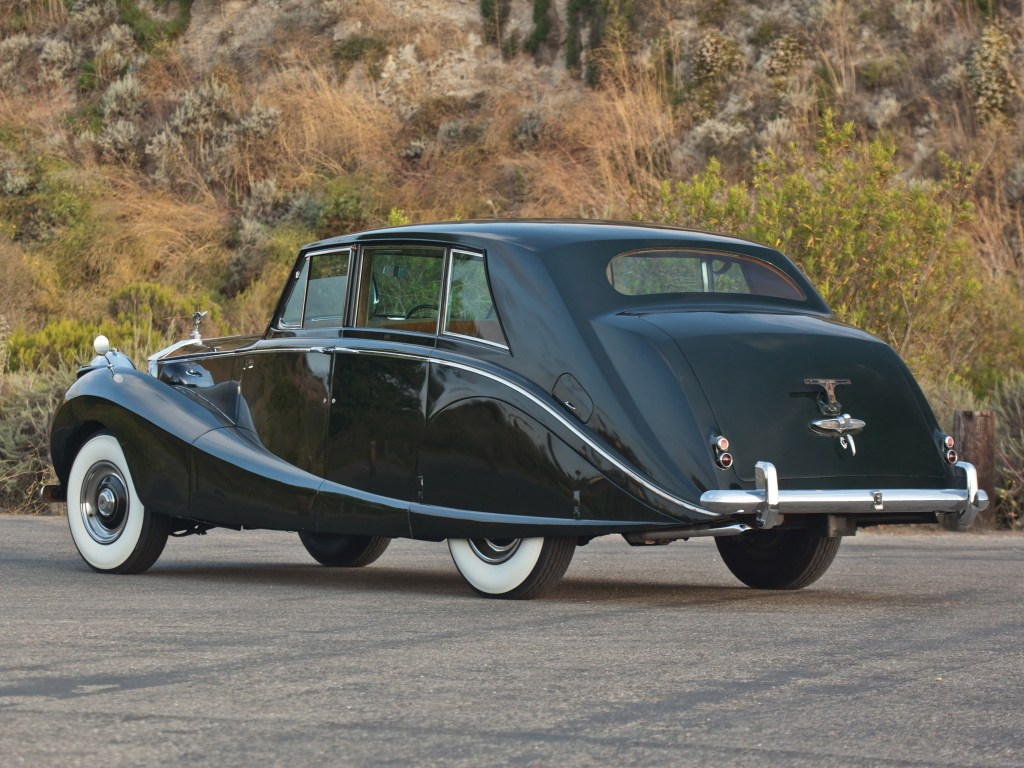 1958 Rolls Royce Silver Wraith Hooper Limousine