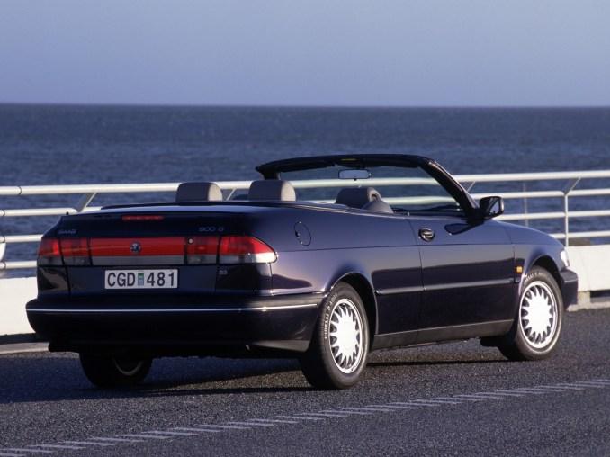 1997 Saab 900 S Convertible