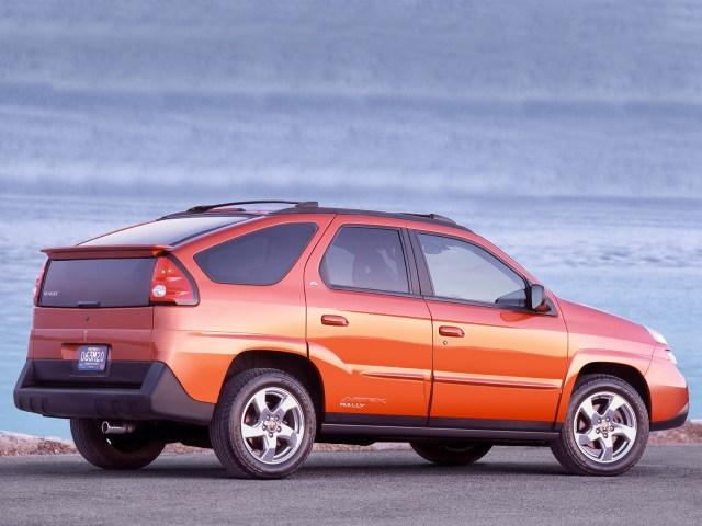 2004 Pontiac Aztek Rally