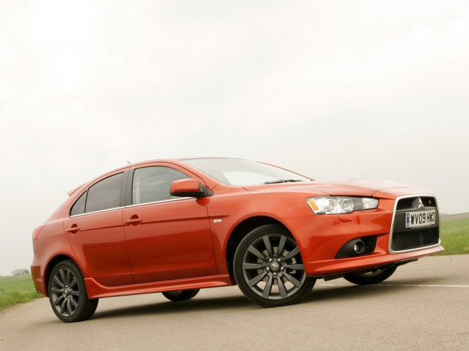2009 Mitsubishi Lancer Sportback Ralliart UK