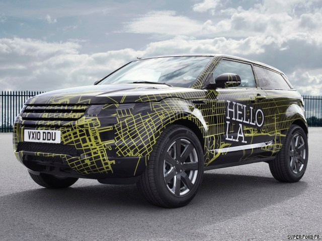 2010 Land Rover Evoque Prototype Camo