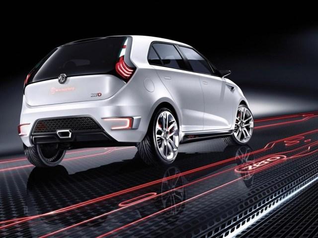 2010 MG Zero Concept