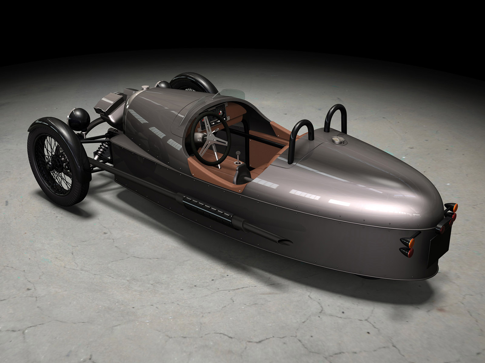 Morgan Threewheeler Concept (2010)