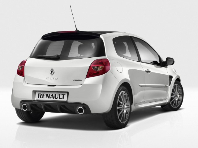 2010 Renault Clio 20th Limited Edition
