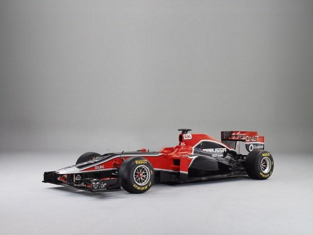 2011 Marussia F1 Virgin Racing MVR02