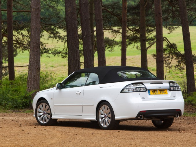2011 Saab 9-3 Griffin Convertible Aero UK