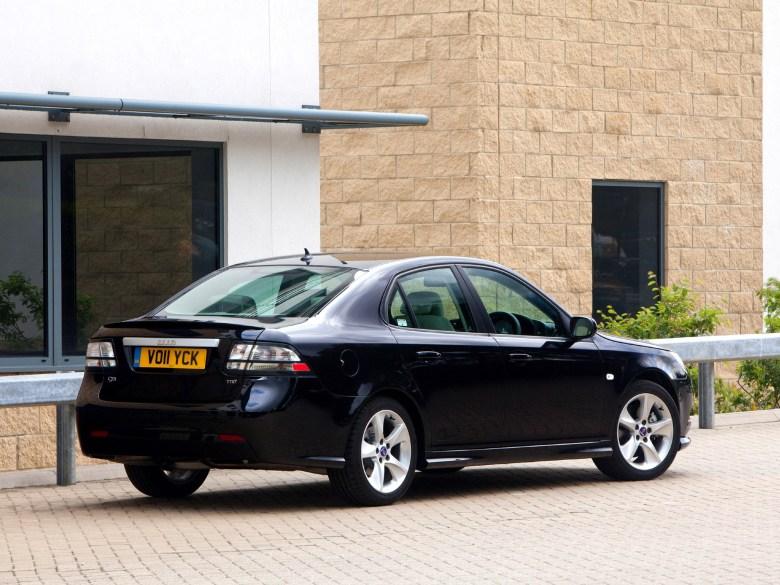 2011 Saab 9-3 Griffin Sport Sedan UK