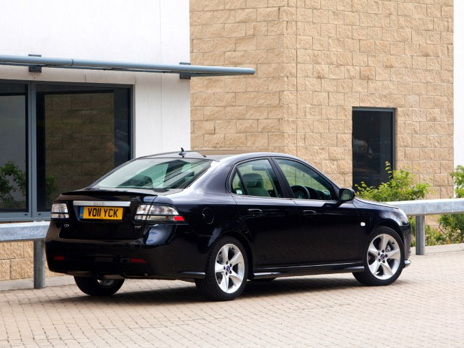 2011 Saab 9-3 Griffin Sport Sedan UK