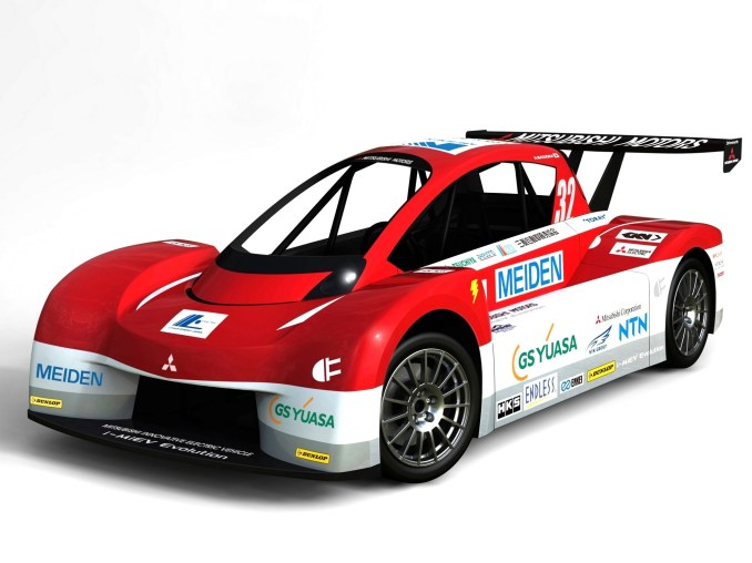 2012 Mitsubishi I Miev Evolution Pikes Peak Race Car