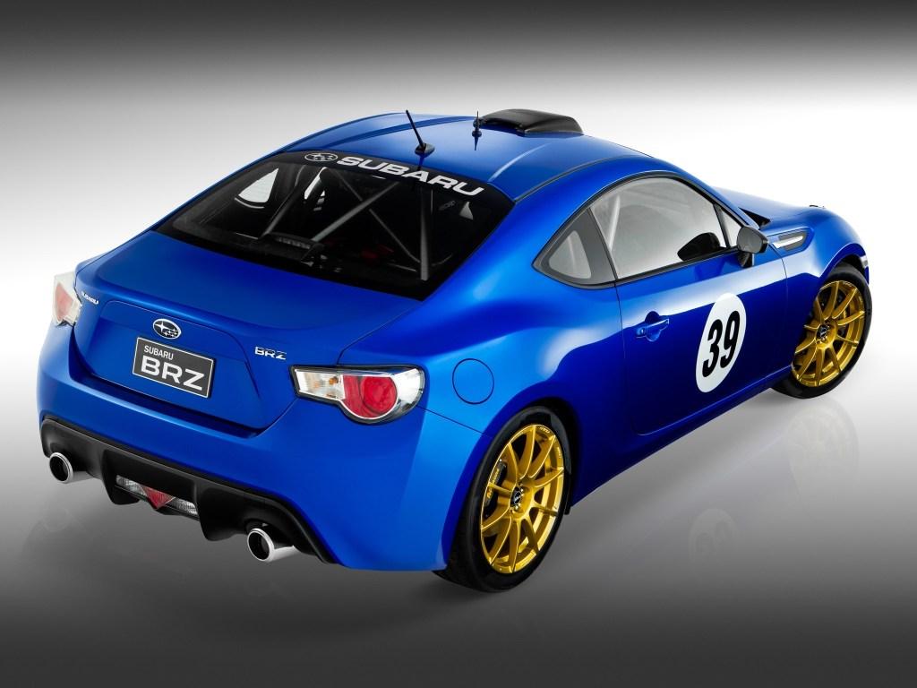 2012 Subaru BRZ Project Car Possum Bourne Motorsport