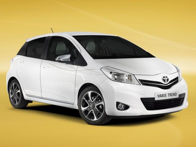 2012 Toyota Yaris Trend 5 Door